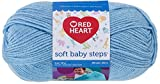 RED HEART Soft Baby Steps Yarn, Baby Blue