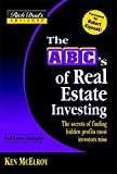 Real Estate Investing Books! - Rich Dad's Advisors®: The ABC's of Real Estate Investing: The Secrets of Finding Hidden Profits Most Investors Miss