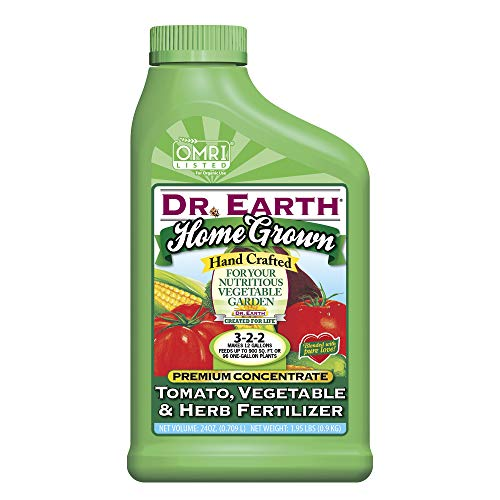 Dr. Earth Home Grown Tomato, Vegetable & Herb Liquid Fertilizer 24 oz Concentrate