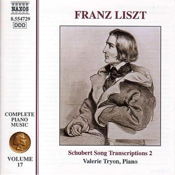 Liszt Complete Piano Music, Vol. 17: Schubert Song Transcriptions, Vol. 2