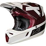 Fox Racing Preest Adult V3 Men's Off-Road Motorcycle Helmets,Dark Red,Medium