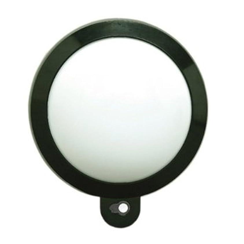 お祝い提供種アイリスオーヤマ センサーライト ガーデン 乾電池式 ブラック/電球色 ZSL-MK