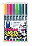 STAEDTLER 31-S WP8 Lumocolor Permanent Art. Estuche exclusivo STAEDTLER box con...