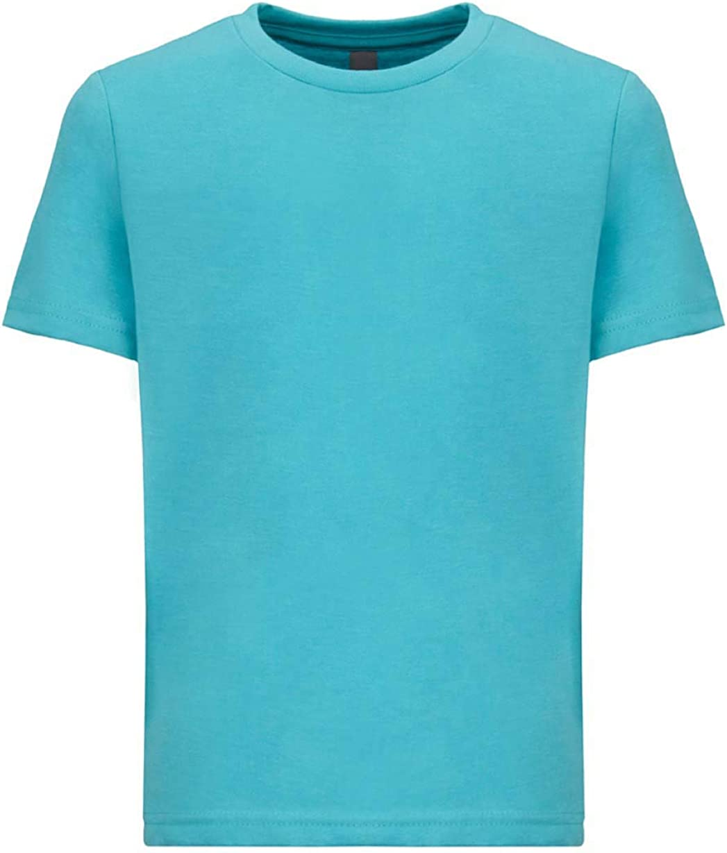 Next Level Kids CVC Crew Neck T-Shirt Tahiti Blue S