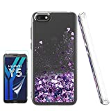 ATUMP Case for Huawei Y5 2018 with HD Screen Protector,