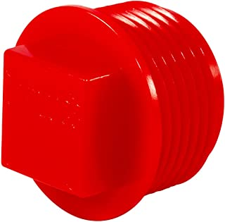 Caplugs 99390176 Plastic Threaded Plug for Pipe Fittings. P-48, PE-HD, to Plug Thread Size 1/2 NPT