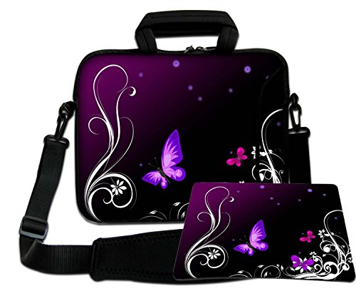 Luxburg schoudertas laptoptas tas tas met draagriem van neopreen Plus Free Mouspad! Voor Apple, Acer, Asus, Chromebook, Dell, HP, Lenovo, Samsung, Sony etc laptop 15,6 inch