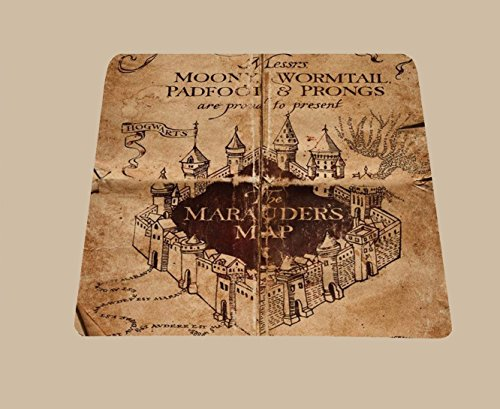 Harry Potter inspired Marauders Map Mousepad mouse pad