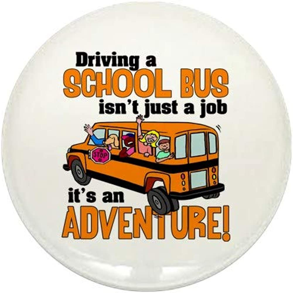 CafePress Driving Recommended A School Bus 1