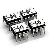 Serial Wombat 4B - I2C Smart I/O Expander and A/D Converter - 4 Pack. Drive Servos, switches, quadrature encoders, UART/I2C Bridge Over I2C Compatible with Arduino