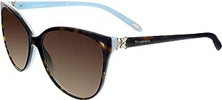Tiffany TF4089B 8134-3B Tortoise TF4089B Cats Eyes Sunglasses Lens Category 3 S
