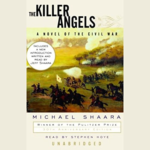 The Killer Angels audiobook cover art