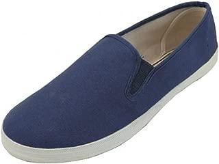 LF Wear Mens Canvas Shoes Slip on Sneakers