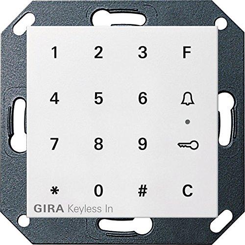 Gira Keyless In Codetastatur S55 reinweiß glz. 260503
