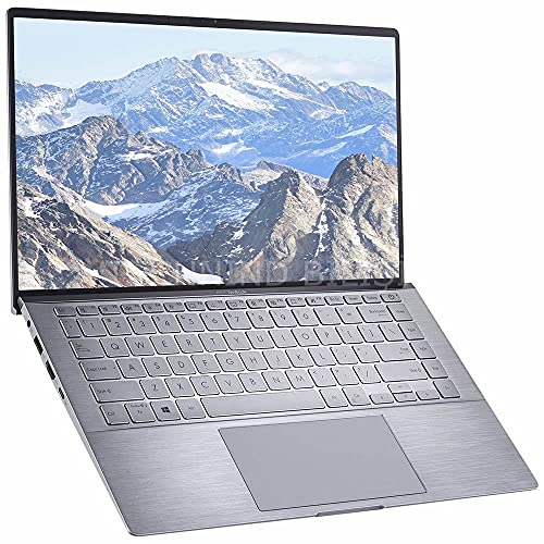 ASUS Zenbook 14 Laptop - AMD Ryzen 5-8GB RAM - NVIDIA GEFORCE MX350-256GB SSD - Win 10, Light Gray