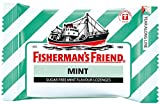 Fisherman's Friend Sugar Free Refreshing Mint Flavor Cough Lozenges, 25g each pack (Pack of 12)