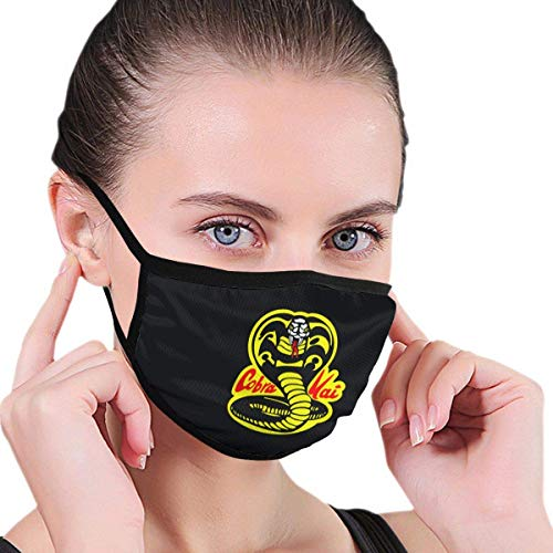 Mundschutz, Cobra Kai Karate Dojo Waschbarer Mundschutz für Männer & Frauen