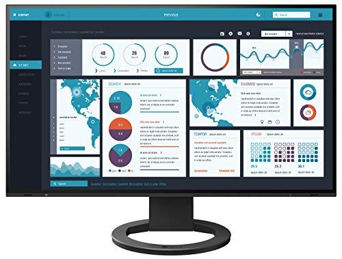 "EIZO FlexScan EV2795-BK - Monitor Profesional LED Display 68,5 cm (27"") 2560 x 1440 Pixeles Quad HD Plana Negro FlexScan EV2795-BK, 68,6 cm (27""), 2560 x 1440 Pixeles, Quad HD, LED, 5 ms, Negro"