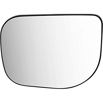 DNA Motoring OEM-MG-0436 963667S60A OE Style Driver//Left Heated Mirror Glass 2005-2009 NISSAN ARMADA INFINITI QX56