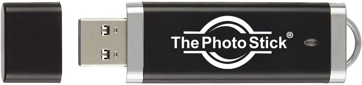 ThePhotoStick 128GB - Easy, One Click Photo and Video Backup