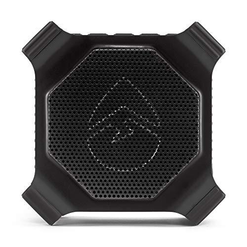 ECOXGEAR EcoEdge GDI-EXEDGE301 Rugged Waterproof Floating Portable Bluetooth Wireless 20 Watt Smart Speaker with Built-in Bottle Opener (Black)