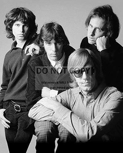Sales bucraft The Doors Rock Band Jim 2021 spring and summer new Pub 8X10 - Morrison RAY MANZAREK