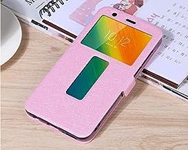 """Flip Cases - Flip Cover for for Lenovo K5 Play L38011 Case Flip Leather Phone Case for for Lenovo K5 Play K320t 5.7"""" Back Cover Funda (Pink)"""