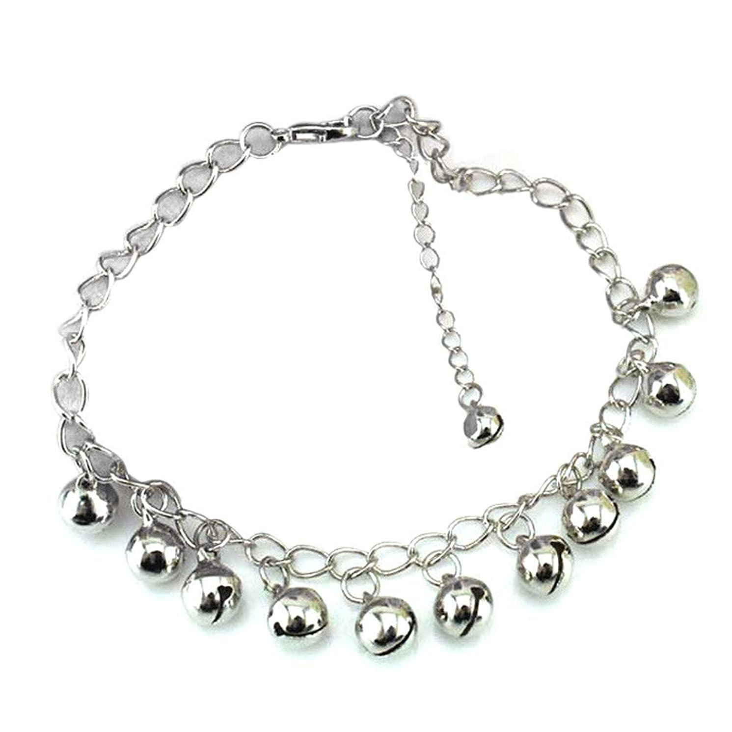 ?? Orcbee ?? _Women Bells Anklet Bracelet Sandal Barefoot Beach Foot Jewelry