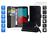 Case and Screen Protector for Alcatel 3L (2019) Black