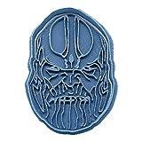 Cuticuter Thanos Avengers - Taglierina per biscotti, colore: blu, 8 x 7 x 1,5 cm