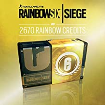 TOM CLANCY'S RAINBOW SIX SIEGE: 2670 (2400 + 270 bonus) R6-CREDITS - 2670 CREDITS | Código Uplay para PC