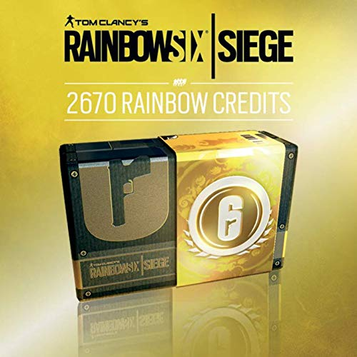 TOM CLANCY'S RAINBOW SIX SIEGE: 2670 (2400 + 270 bonus) R6-CREDITS - 2670 CREDITS | Código Uplay para PC