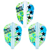 COSMO DARTS flights Fit Flight AIR×Juggler x West this gift of Super shape color MIX