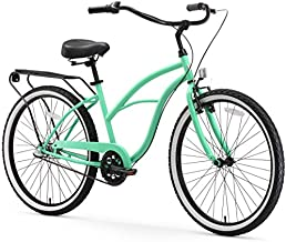 sixthreezero Around The Block Women's 3-Speed Beach Cruiser Bicycle, 26