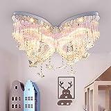 Ruanpu Mädchen Deckenlampe Schlafzimmerlampe Lampe Kinderlampe Modern Kreative Schmetterling...
