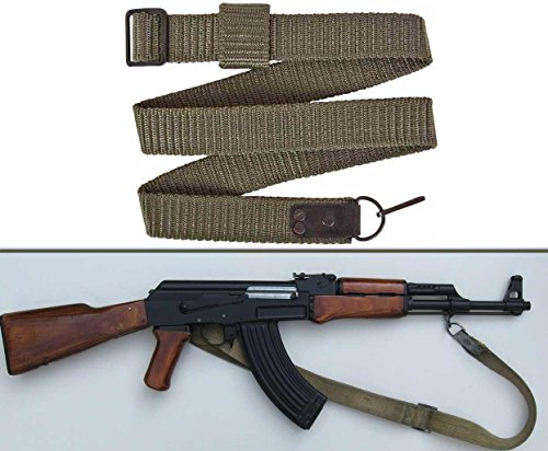 Ultimate Arms Gear Bulgarian Military SKS SVD AK47 AK74 Nylon Rifle OD Olive Drab Green Sling