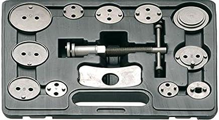 FOLWME 270 mm Car Ratchet Freno Pist/ón Pinza Herramienta de compresi/ón Compresor Auto Llave del Coche Prensa Single Twin Quad Pistons Instalar Herramienta-Azul-1 Tama/ño