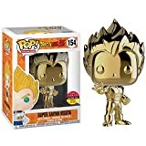 Jokoy Funko Pop Dragonball Z #154 Super Saiyan Vegeta Metalic Limited Edition (Golden) Multicolor