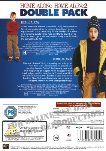 Home Alone / Home Alone 2: Lost in New York Double pack [DVD] [1990]