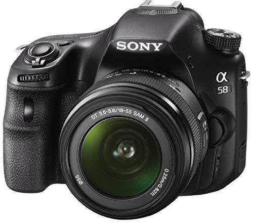 Sony SLT-A58K Digital SLR 20.1MP Camera with 18-55mm Zoom Lens