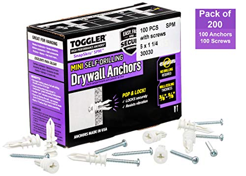 Best drywall anchors for heavy items