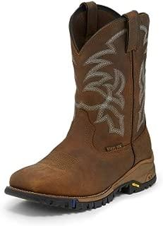 Men's Roustabout Wheat Waterproof Steel Toe 11