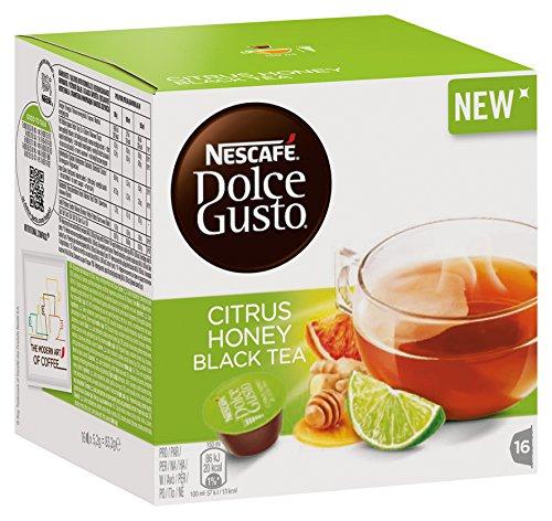 Nescafé Dolce Gusto Kapseln, Citrus Honey Black Tea, 48 Kapseln für 48 Getränke (3x16 Stück)
