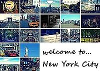 welcome to New York City / Geburtstagskalender (Wandkalender 2022 DIN A4 quer): New York - Eindruecke einer faszinierenden Stadt (Geburtstagskalender, 14 Seiten )