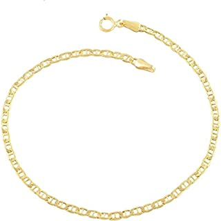 انگشتر طلا 14K برای زنان. خلخال 14 اینچی 10 اینچی ، خلخال مارینر تخت طلا ، زنجیره جعبه ای 14 کیلویی طلایی ، زنجیره کوبا ، زنجیر فیگارو ، زیورآلات طلایی ساحل تابستانی ، قوزک طلا و جواهر پا