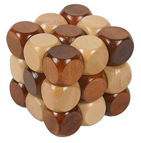® Cubo 3D Rompecabezas de Madera Juego Puzzle   #1