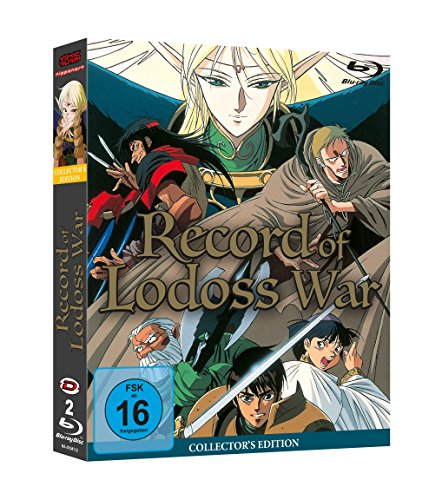 Record of Lodoss War - Gesamtausgabe (Collector's Edition) [Blu-ray]