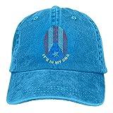 Yuanmeiju Cappellino da Baseball Men Women, Puerto Rico It's in My Dna Womens Cotton Adjustable Jeans cap Hat