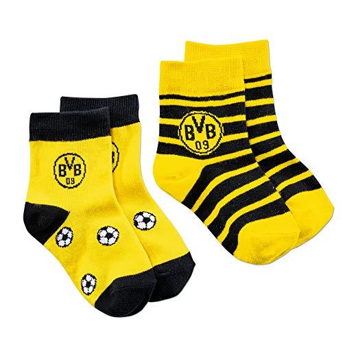 Borussia Dortmund BVB-Kindersocken (2er-Pack) 02