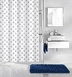 Kleine Wolke textilgesellschaft Duschvorhang, Synthetikfasern, blau, 200x 180cm